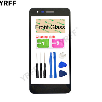 Перейти на Алиэкспресс и купить Переднее внешнее стекло мобильного телефона для LG K8 2018 Aristo 2 SP200 MX210 Переднее стекло панель Стекло