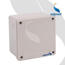145*145*90mm  IP67 ABS Junction Box / Plastic Screw Type  Waterproof  Enclosure   (SP-02-141490)