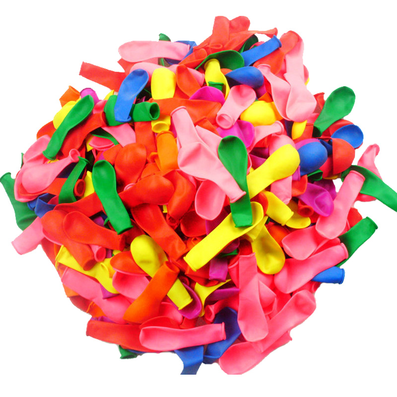 <font><b>500pcs</b></font> <font><b>Ballons</b></font> Shooting Game Latex Balloon Small Summer Water Bomb Balls Mixed Color Outdoor Party Wedding Decorative <font><b>Ballons</b></font> image