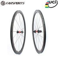 Far sports FSC38 TM 23 DT240 Chinese OEM bike wheel carbon,38mm profile 23mm wide tubular road bicycle wheelset
