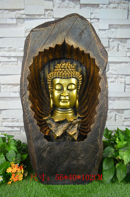 Large rockery water fountain indoor buddha courtyard sitting room large rockery water fountain indoor buddha courtyard sitting room landing place workwithnaturefo