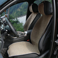 2 Pc Artificial Linen Car Seat Cover Autumn And Winter New Universal Automobiles Covers For Car