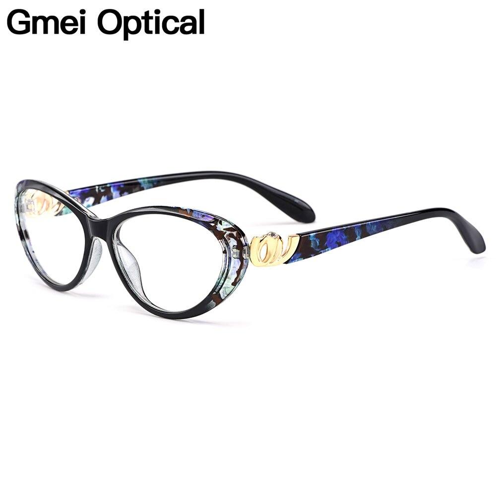 Gmei Optical Urltra-Light TR90 Cat Eye Style Women Full Rim Optical Glasses Frame Female Plastic Myopia Presbyopia Eyewear M1460