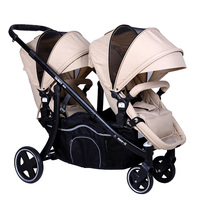 shiny baby twins baby stroller high quality two baby use carriage trolley