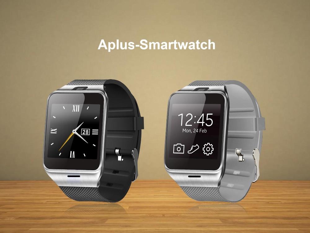 39934219ba3bd 2016 Fashion Aplus Smart Watch GV18 Support Micro SIM Card NFC  Communication Bluetooth 3.0 Clock 550mAh Battery Long Duration - us69