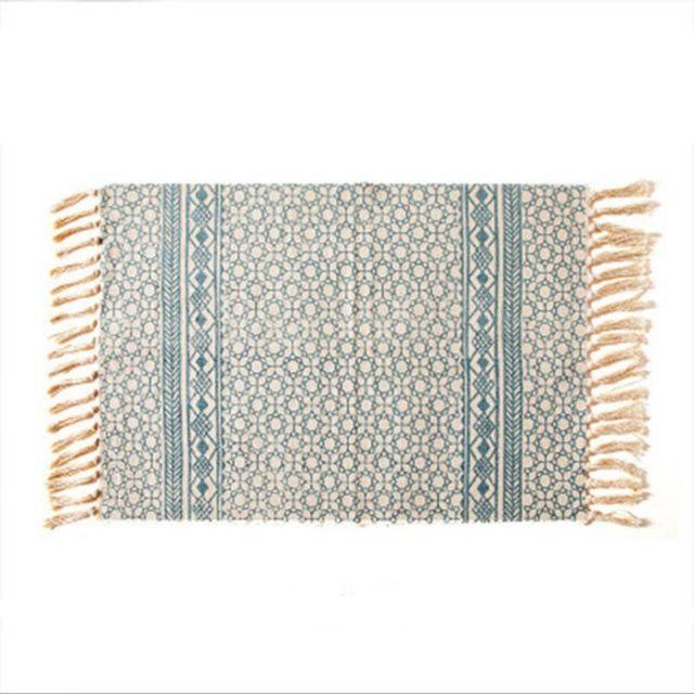 Vintage Rustic Boho Ethnic Rug