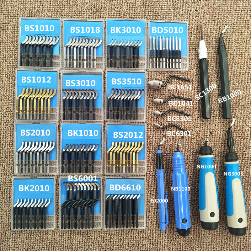 High Quality Trimming Blade BS1010 Deburring Bayonet NB1100 Scraper Handle BS2012