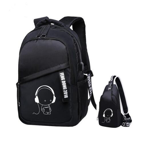 Children School Bags For Boys Sling Chest Bag Waterproof School Backpack For Girls Schoolbag Backpack Kids Shoulder Bag