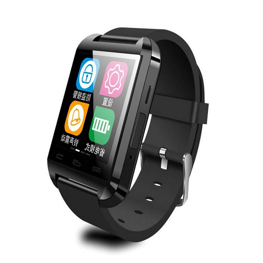 Bluetooth smart watch U8 Wrist Watch health U font b smartWatch b font for Samsung S4