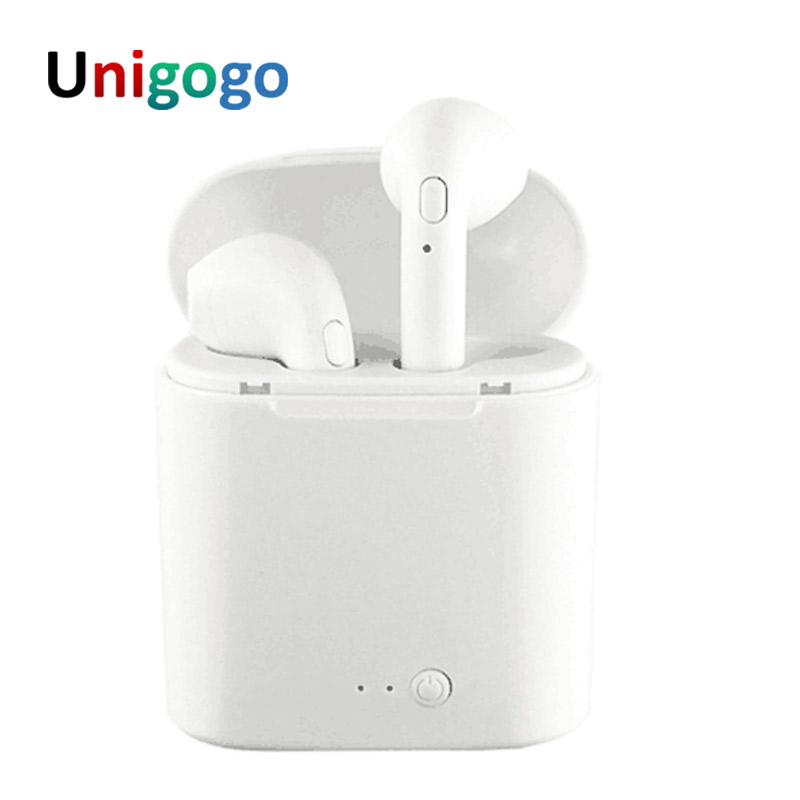 I7S TWS Earphone Ture Wireless Earbuds Twins bluetooth Headphones portable Stereo music Headset with Mic For phone iPhone Xiaomi