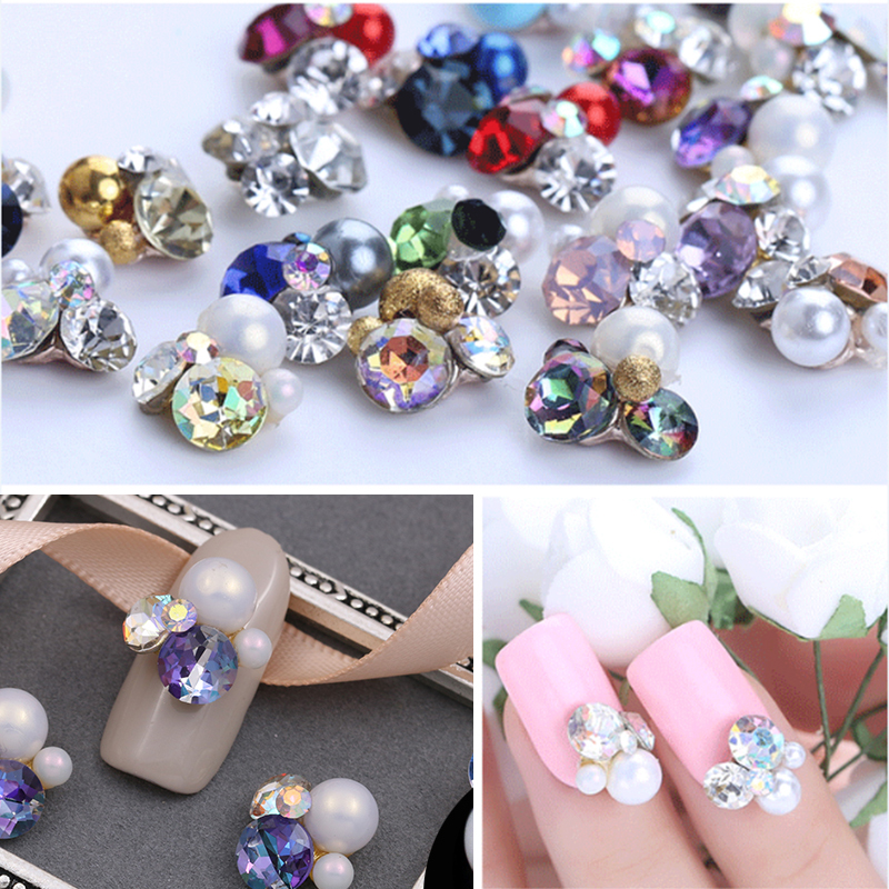 Detail Feedback Questions about Nail art decorations rhinestones for nails  new arrive rose gold stones 3D jewelry gel nail polish diamond painting ... ede2be8259f7
