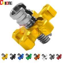 Motorcycle Aluminum brakes Clutch Cable Wire Adjuster For Suzuki SV650 SV650S VZ800/Triumph Daytona 900 955i T595 955CC цены