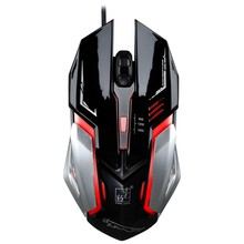 цена на Laptop USB Wired Mouse Gaming Tablets Original Optical 200-2400 DPI Gamer Mice Computer Office Use Light Rechargeable LED Mause