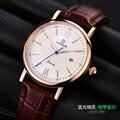 Novo 2016 hot vender Mens Relógios Top Marca de Luxo de Quartzo relógio V8388 calendário relógio Moda estilo super qualidade apenas para atacado