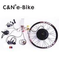 Super Speed 5000w Powerful Wheel Hub Motor Kits With TFT Display Electric Bike Conversion Kit