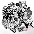 60 pcs mixed graffiti jdm sticker waterproof home decor Doodle laptop motorcycle bike travel case decal car sticker
