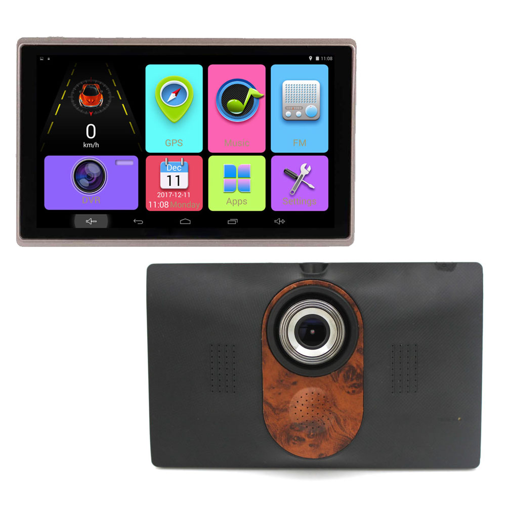 KARADAR 7 inch  Car GPS Navigation Android 4.4 DVR 720P MTK8127 DDR3 512MB 16G flash with map IPS 1024*600 Capacitive screen