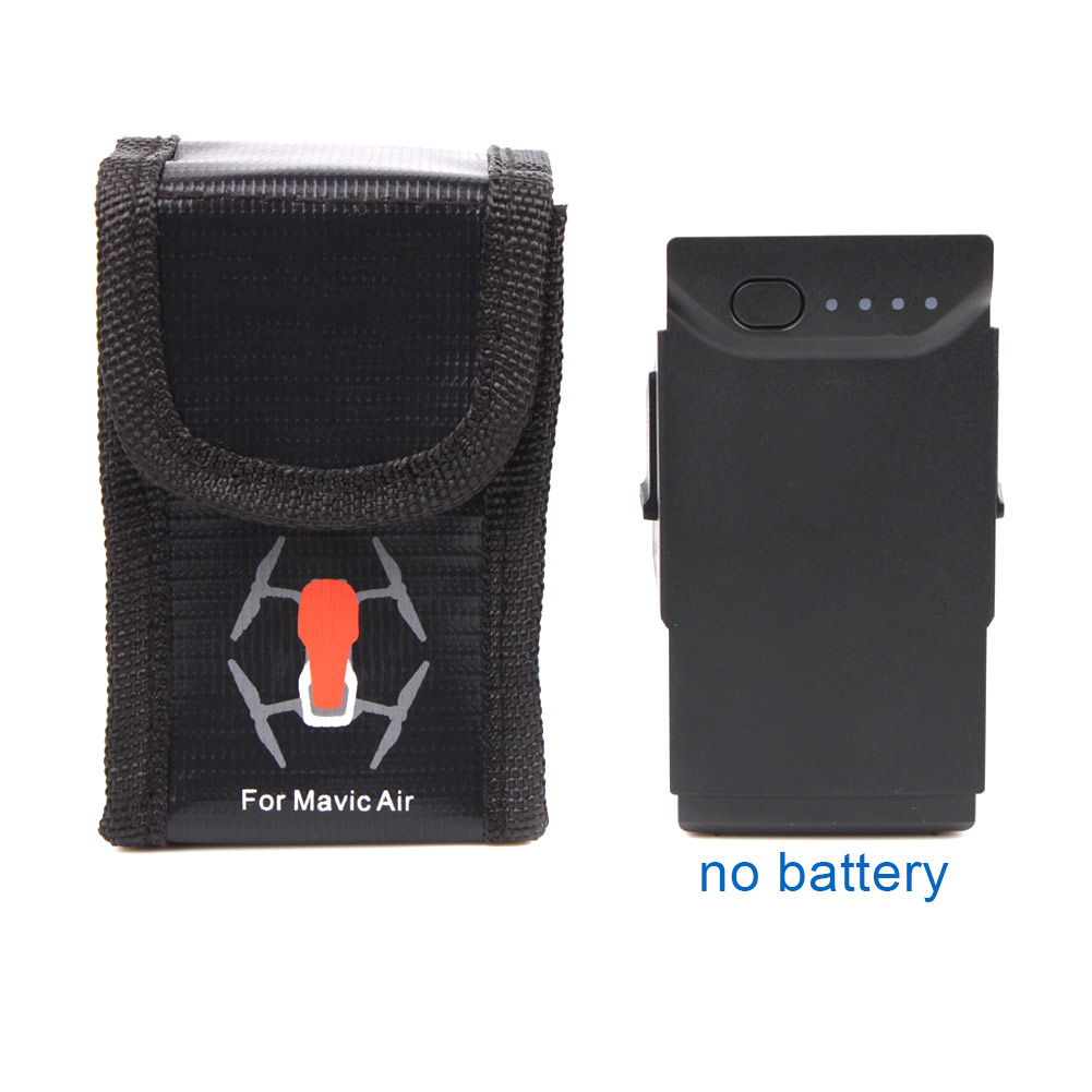 2018 New Safe Bag Explosion-proof Guard Accommodate 1 Battery Durable Small Storage For AIR -17 775