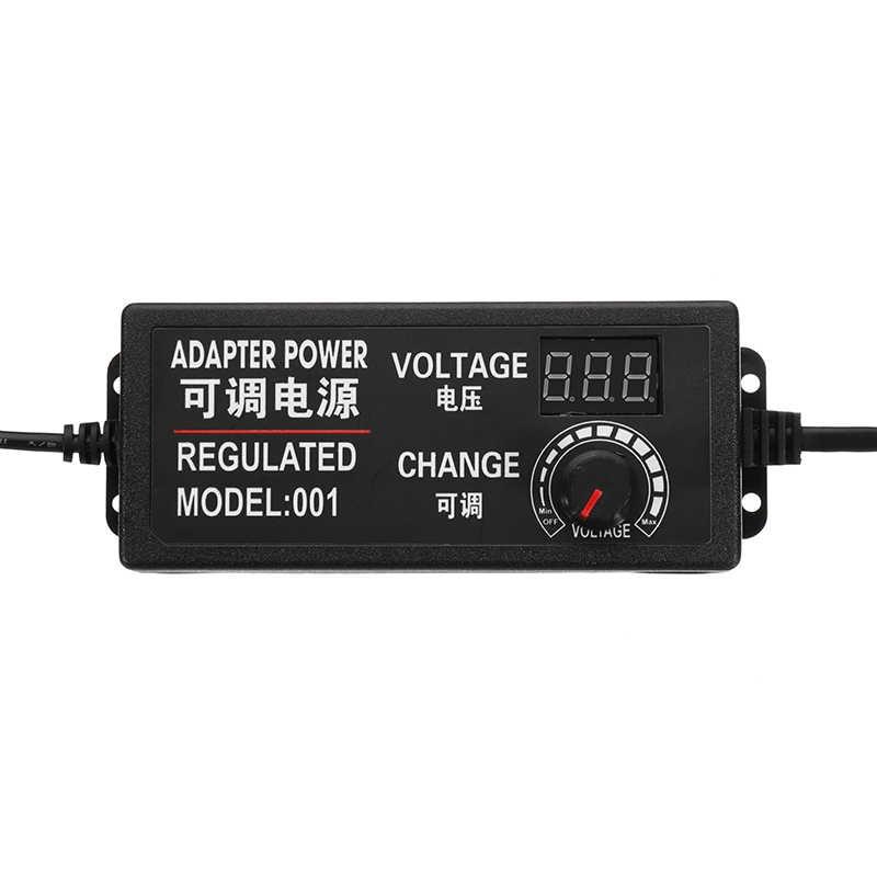 9-24V 3A 72W adaptateur ca/cc alimentation à découpage régulée adaptateur d'alimentation affichage prise ue de haute qualité