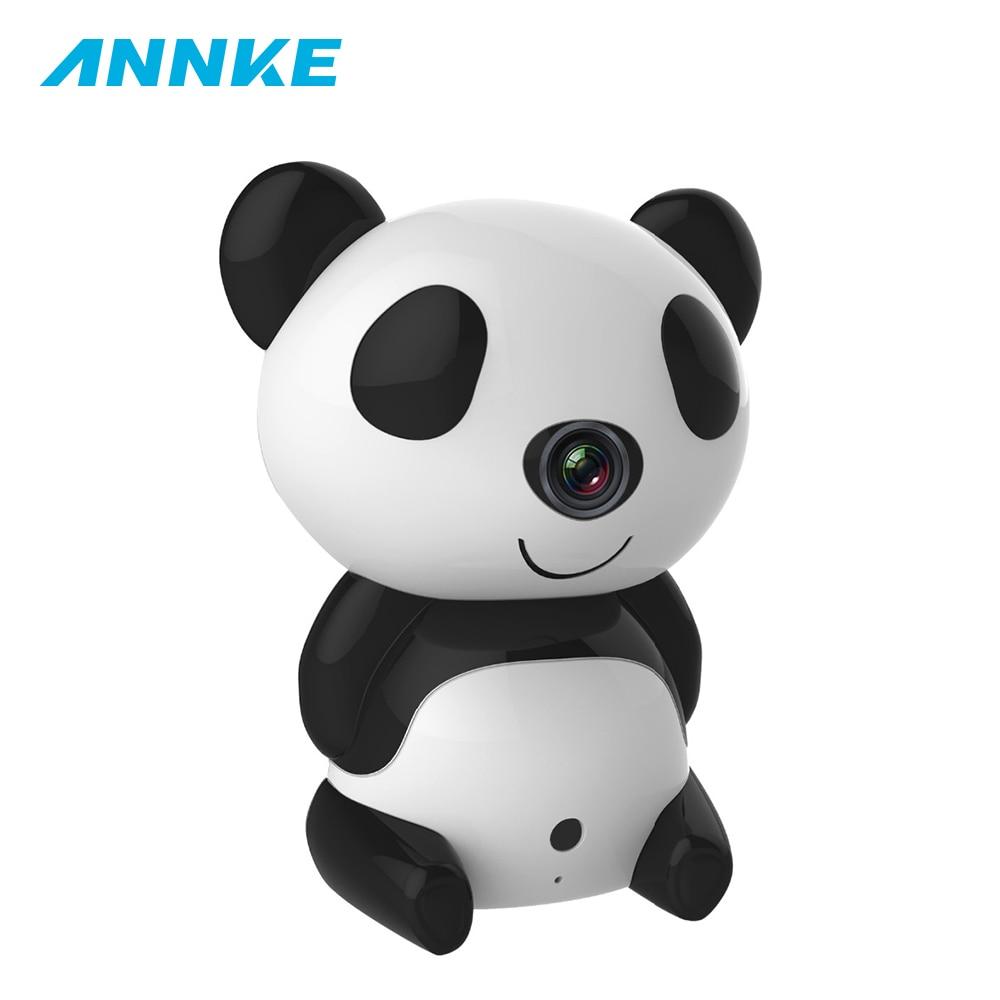 ANNKE H1280 X 720P Day/Night Wi-Fi Baby Moninitor Cute Panda Cloud IP Wireless 30ft Night Vision Video Monitoring Camera