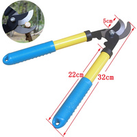 High Carbon Steel Garden Pruning Shears Slippery Handle Gardening Scissors Cut Thick Branches Garden Tools Bonsai
