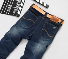 William Lee jeans Classic Straight Denim Jeans Men Casual Designer Jean Pants Famous Brand High Quality Plus Size 40