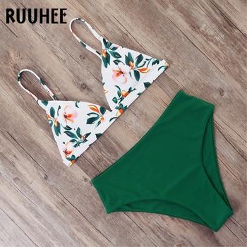 RUUHEE Bikini Swimwear Women Swimsuit Sexy Bikini Set Push Up Bathing Suit 2019 Female Beachwear Women's Swimming Suit Swim Wear