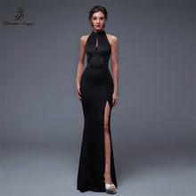 2c521802b25 Poems Songs2019 espalda descubierta elegante con abertura lateral abierta  vestido de fiesta Formal de graduación vestido