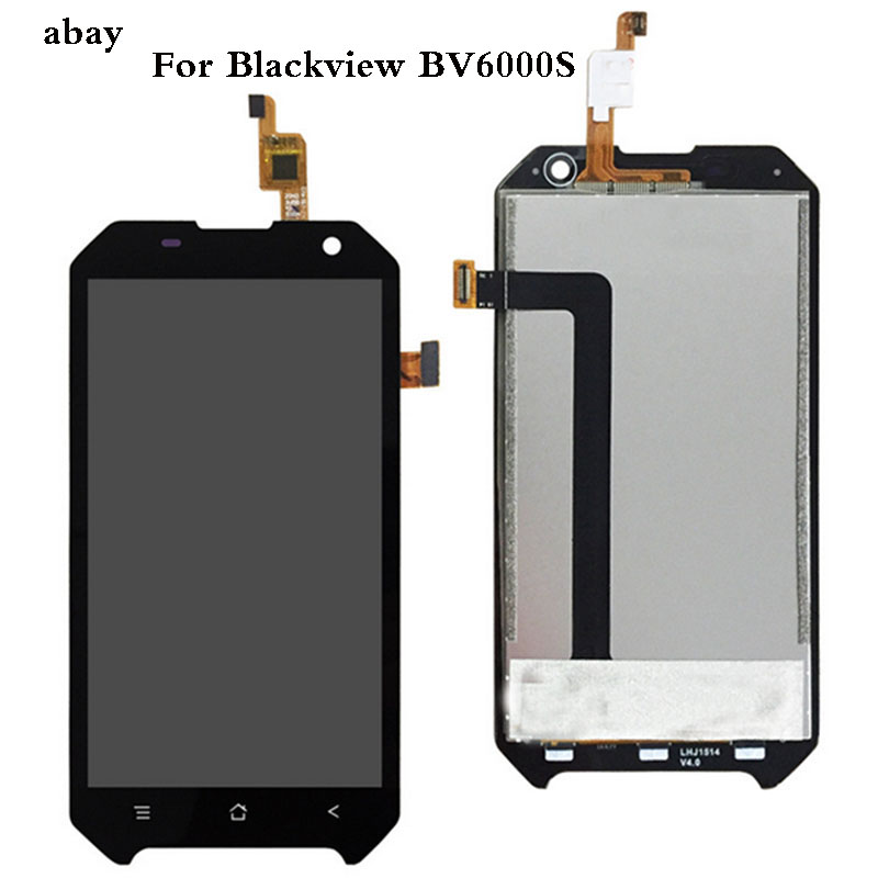 4.7''For BlackView <font><b>BV6000</b></font> Bv6000s <font><b>LCD</b></font> Display and Touch Screen Assembly Repair Part For BlackView <font><b>Bv6000</b></font> BV6000s image