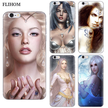 Фотография Silicone Cases for iphone 6 6s 7 Phone Case For iPhone 5 5S SE Case 3D Sexy Girl Soft TPU Slim Cover For iPhone 8 Plus phone Bag