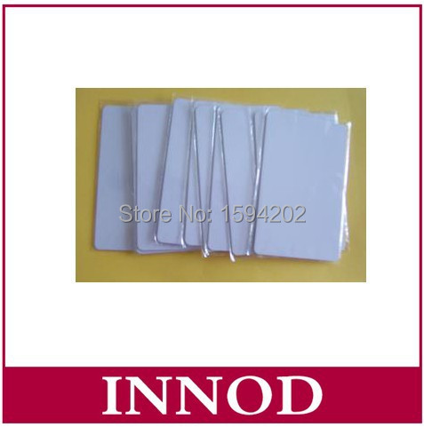 standard size VIP blank white UHF rfid card alien H3 chip ISO18000-6C EPC G2 long read distance id card with free uhf label