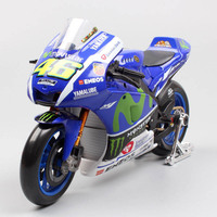 1/10 MotoGP 2016 YAMAHA Factory racing No.46 ROSSI Motorcycle Diecast models toy