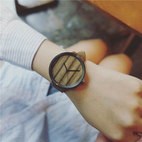 Male And Female Students Watch Harajuku Simple Fashion Leisure Retro Europe Watch Material Mail