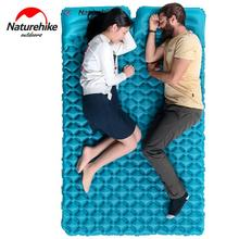 NatureHike Ultralight Egg Crate Inflatable Double Sleeping Pad + FREE Air Bag Inflator
