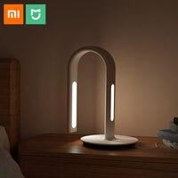 Original Xiaomi Mijia Smart Desk Lamp LED Light Philips2nd Folding Table Lamp Dual Light Touch Sensor Smart Home APP Control