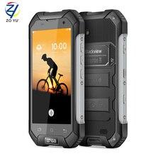 Blackview bv6000s мобильный телефон 4 г lte водонепроницаемый ip68 4.7 inchmt6735 quad ядро Android 6.0 2 ГБ RAM 16 ГБ ROM 8MP Камера смартфон