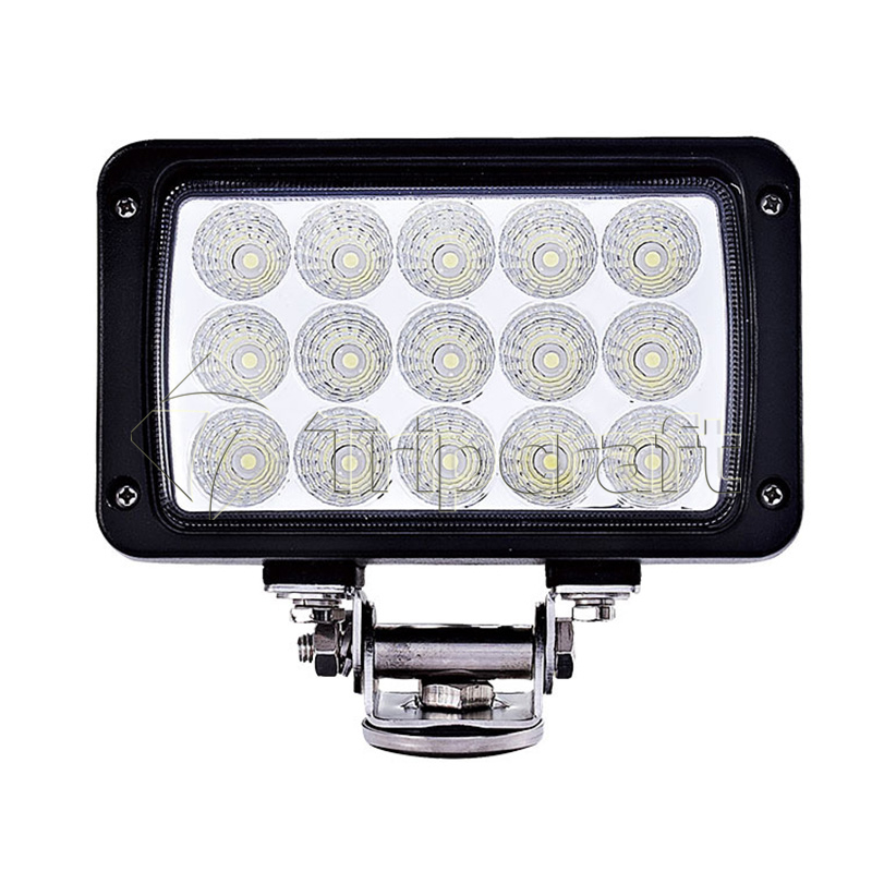 Tripcraft 7inch 45W LED Work Light spot Flood Fog offroad ATV 4x4 Driving Lamp for Motorcycle Tractor Truck Trailer SUV Boat 4WD 7inch 45w led cannon lights round spot driving spotlight work lamp with focused beam for suv 4wd off road truck suv atv offroad