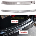Accesorios del coche Protector Del Paragolpes Trasero Guardia Sill Tronco Placa Del Desgaste Del Ajuste para Mercedes Benz clase E W212 W213 E200L E300L