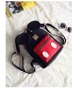 Image 5 - Женский рюкзак с героями мультфильмов, с Микки Маусом