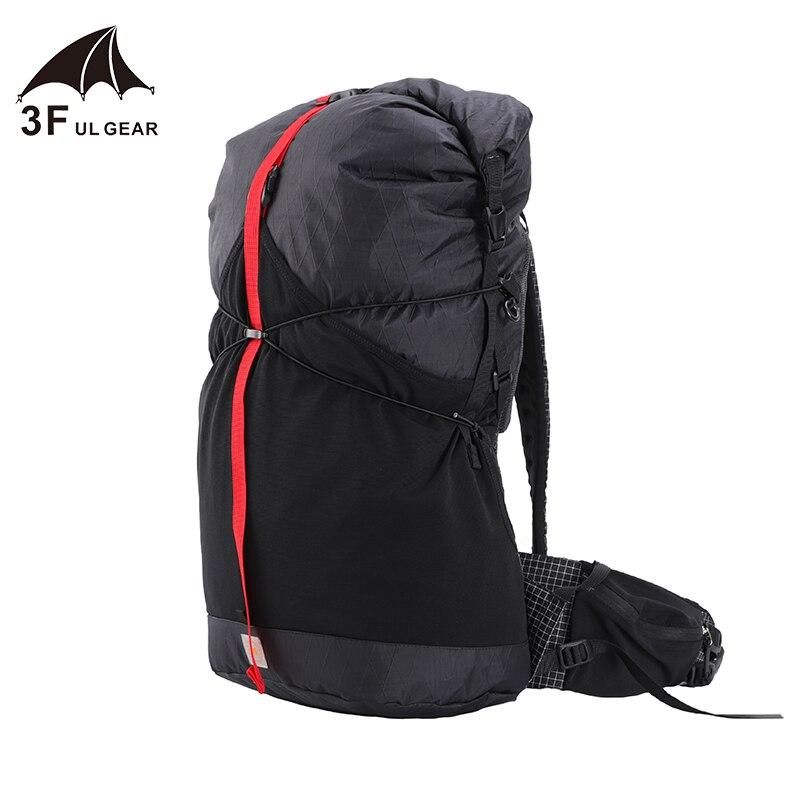 3F UL GEAR 35L léger Durable voyage Camping randonnée sac à dos extérieur ultra-léger sans cadre Packs XPAC & UHMWPE 3F UL GEAR - 4