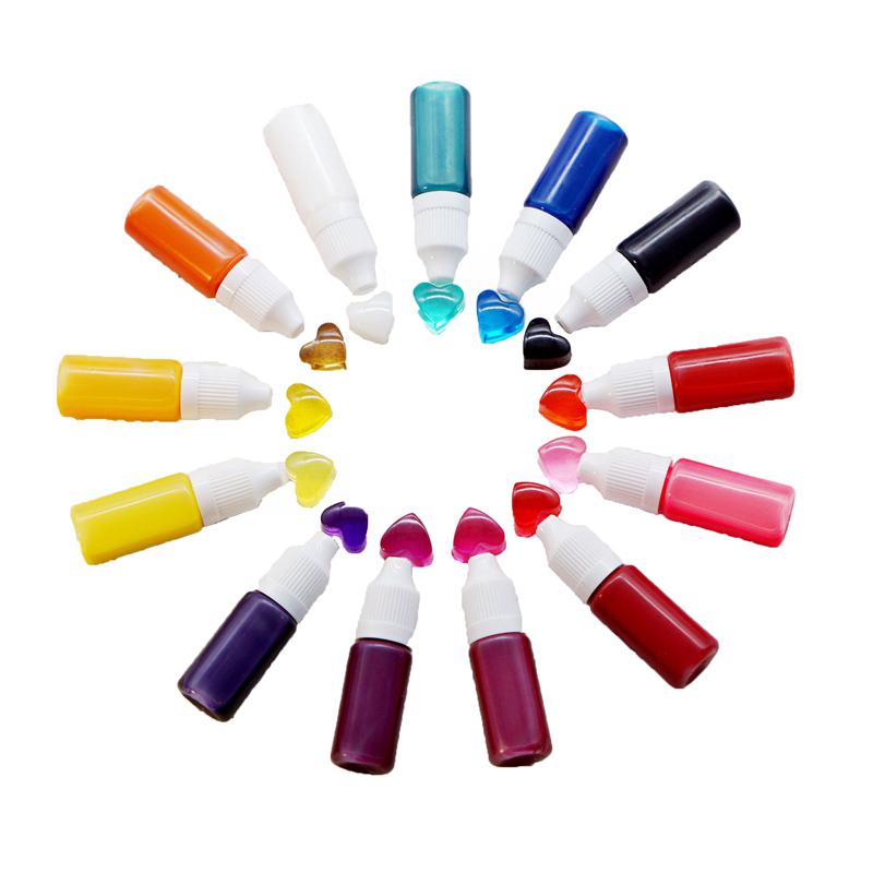 UV Resin Colorant Dyes Liquid For Jewelry Casting Handmade DIY Craft Tool LXH