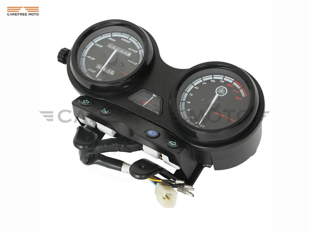 Motorcycle Tachometer Speedometer Meter Gauge Case for YAMAHA YBR 125 2005-2009 Euro II Version цены онлайн