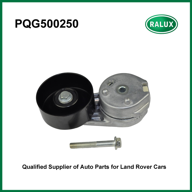PQG500250 1342047 auto 2.7L V6 driving belt tensioner for LR3 Discovery 3 Range Rover Sport 2005-2009 <font><b>car</b></font> drive <font><b>pulley</b></font> tensioner image