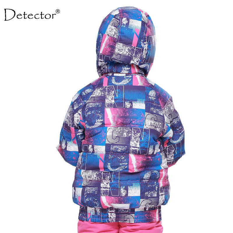 b7ab2c40d17d Detector Kids Winter Children Clothing Girls Skiing Jacket 20 Degree ...