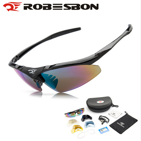 ROBESBON Polarized Cycling Bicycle Sunglasses Outdoor Sports MTB Road Bike Glasses font b Hiking b font