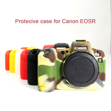 Siliconen Case voor Canon EOSR Body Cover Protector Zachte Siliconen Rubber Camera Beschermende Body Case Skin voor Canon EOS R
