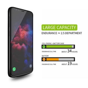 Image 2 - Battery Case For Samsung Galaxy S9 S8 Plus Battery Power Wireless Charging Powerbank Case Power Bank For Samsung Note 8 Note 9