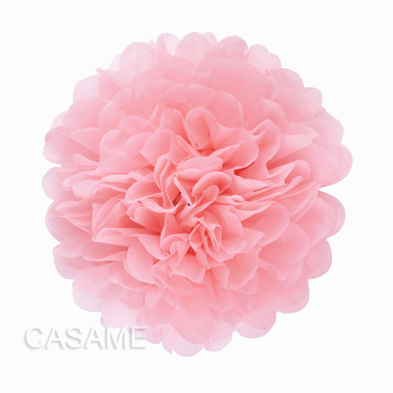5pcs 4 6 8 10 12 inch Tissue Paper pom Poms Wedding Party Paper pompom Flower For Wedding Decoration pompoms  pom pom