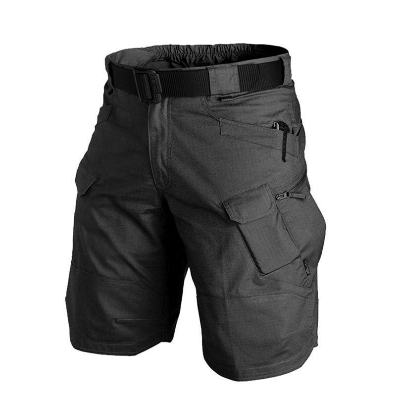 Camouflage Cargo Shorts Men 2019 New Mens Casual Shorts Male Loose Work Shorts Man Military Short Pants DSM