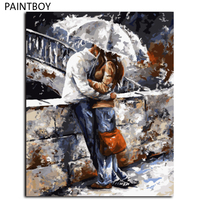 Figure Painting Frameless Pictures Painting By Numbers DIY Canvas Oil Painting On Canvas Eirope Home Decor